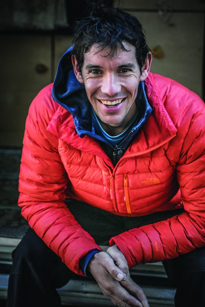 Honnold in Yosemite National Park October 2016. Photo: Parker Alec Cross.