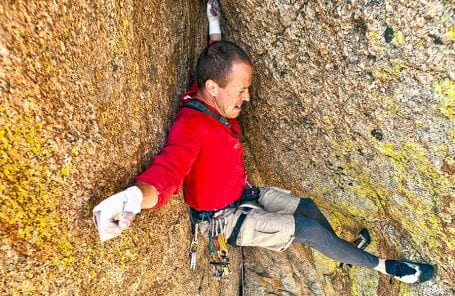 Pete Takeda's Favorite 5.10: Flying Buttress // Vedauwoo, Wyoming