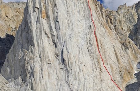 My Favorite 5.10: Red Dihedral [IV 5.10b] // Incredible Hulk, Sierras