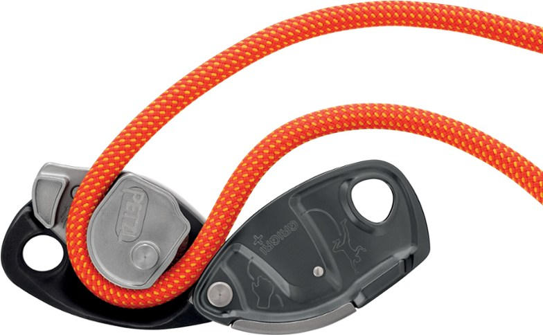 The Grigri+ is Petzl's newest iteration of their classic assisted braking belay device.