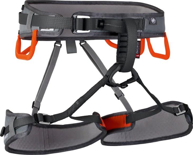 Mamut Ophir speedfit climbing harness.