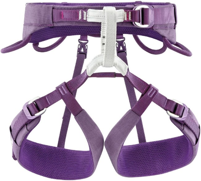 The Petzl Luna is a climbing harnss designed for women.