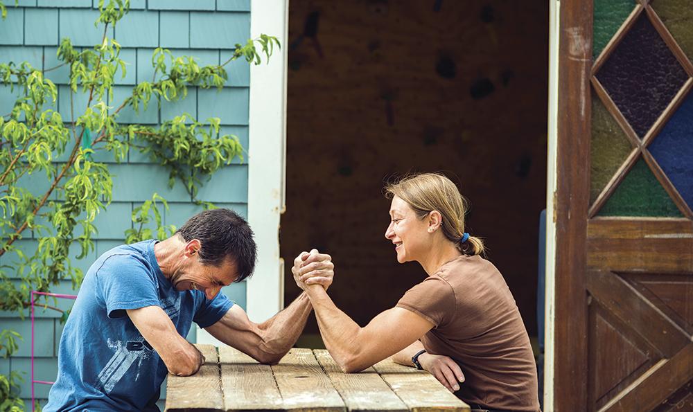 Wife husband wrestling movies — img 2