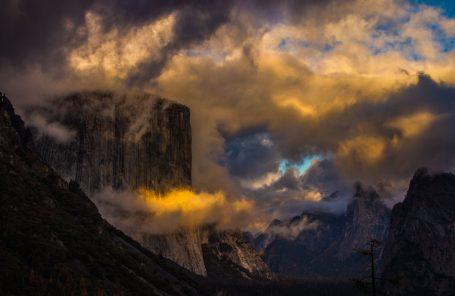 Muir Wall, El Cap, Yosemite - By Bradford Pope McArthur