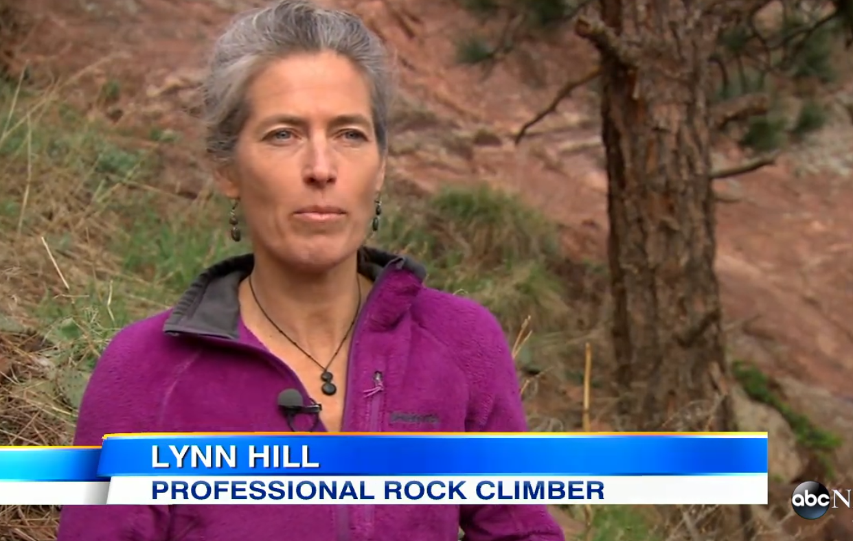Lynn Hill, Real Life Superhero