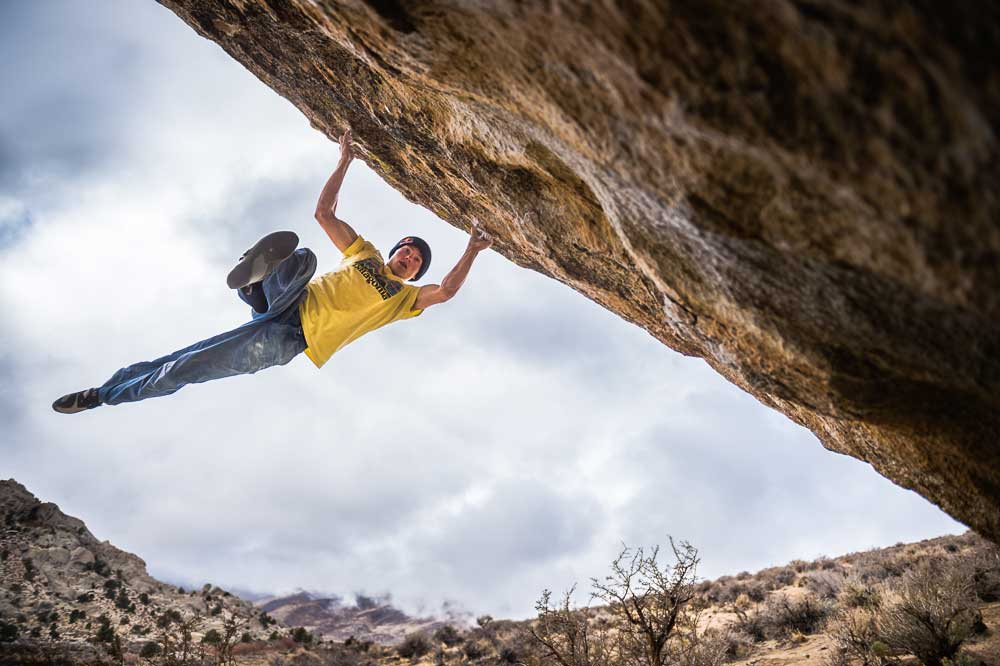 Alex Megos Sends Lucid Dreaming (V15)