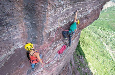 Belaying an XL - Tips for Lightweight Climbers