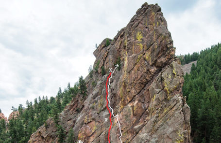 Forty-Foot Fall and Rescue on Eldorado Canyon's Bastille