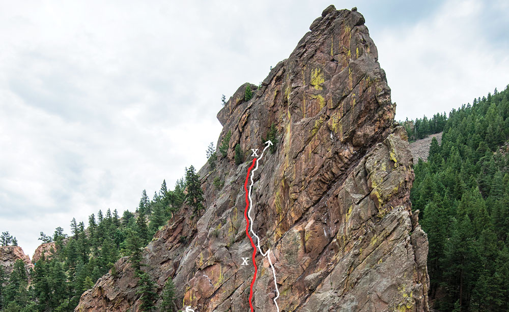 Accident: Forty-Foot Fall and Rescue on Eldorado Canyon's Bastille