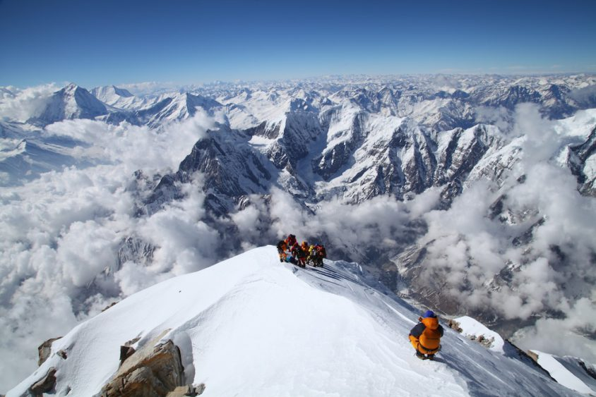 Image result for mount annapurna summit
