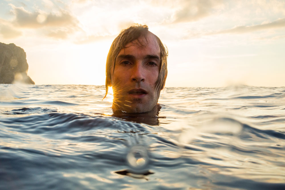 Chris Sharma, Mallorca, Spain. Photo: Adam Clark / REEL ROCK.