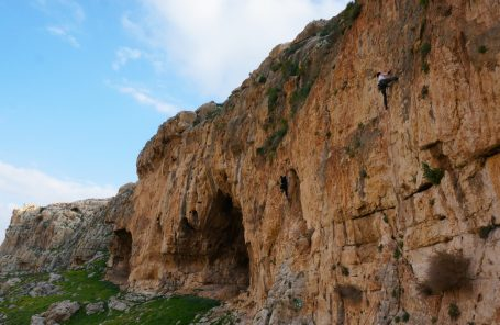 Ondra Visits Israel But Leaves Biggest Wall Unclimbed