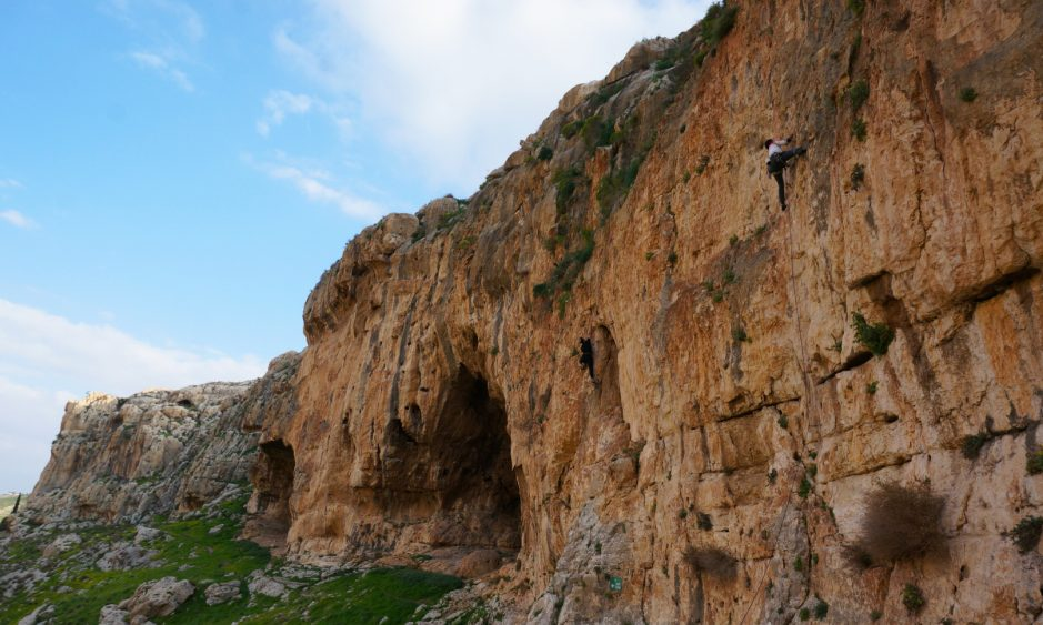 Op Ed Ondra Visits Israel But Leaves Biggest Wall Unclimbed
