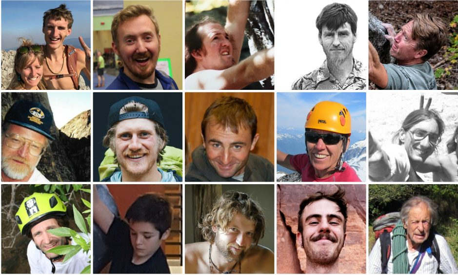 Climbers We Lost in 2017