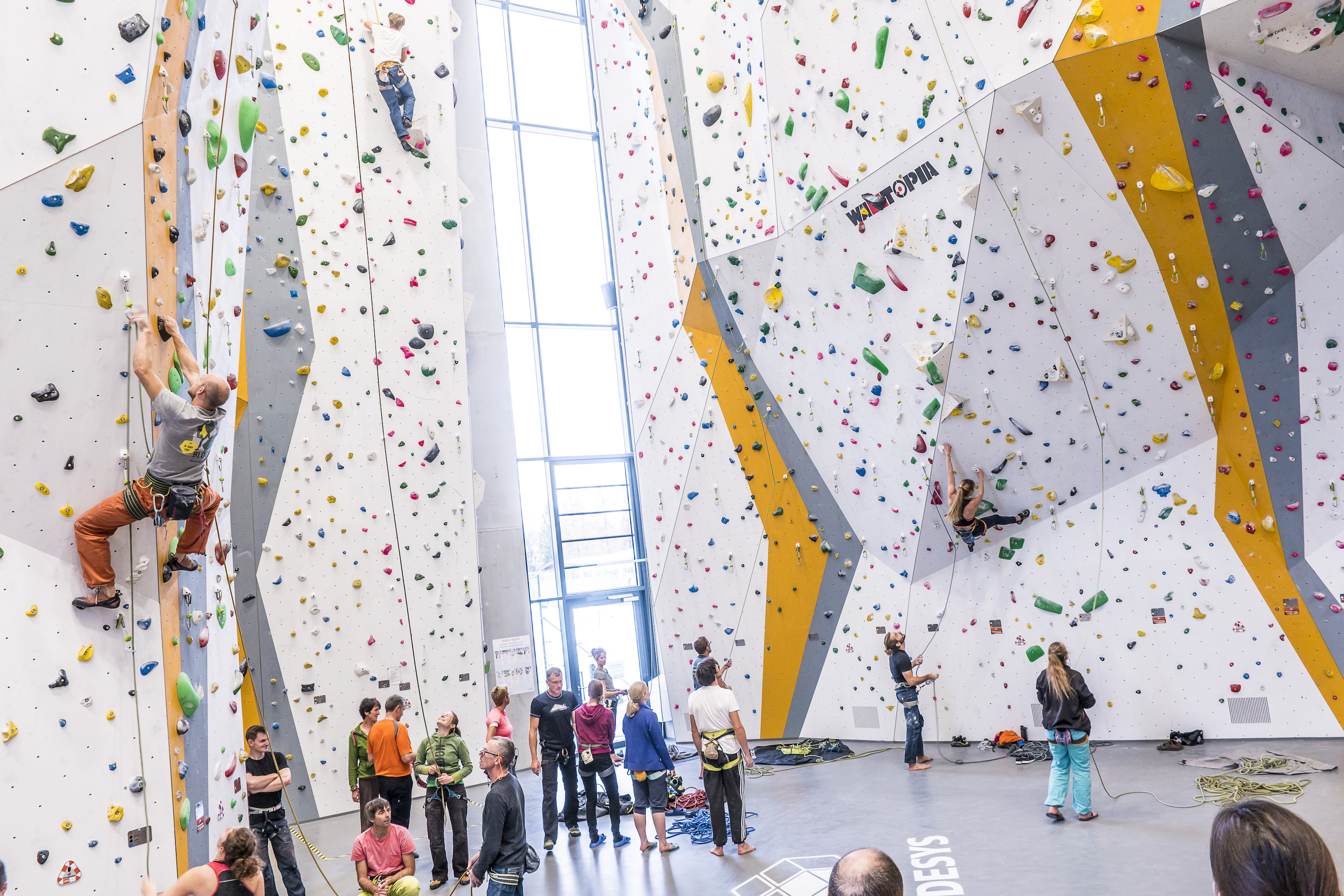 World Indoor Climbing Summit To Debut Rock And Ice