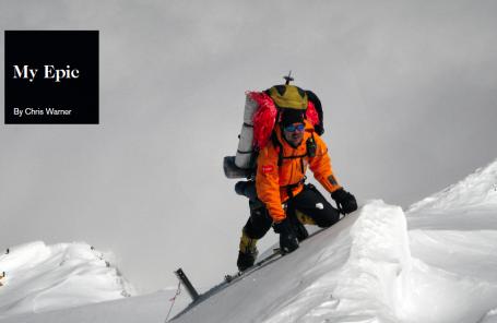 My Epic: Beaned on Everest
