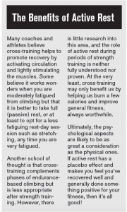Supportive Work: What to do Between Training Sessions