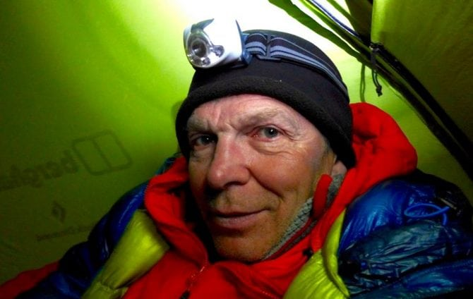 Mick Fowler on Escaping a Crevasse in the Tien Shan, China