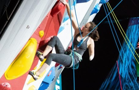 Paraclimbing World Championships Come To A Close in Innsbruck