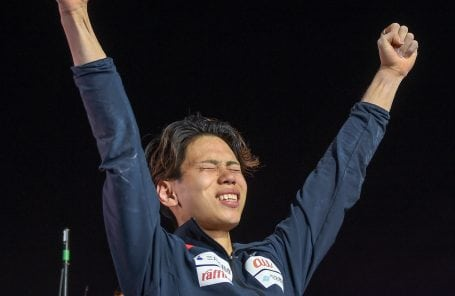 Kai Harada of Japan Crowned Bouldering World Champion 2018
