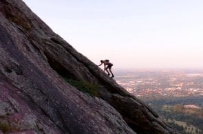 VIDEO: Stuck on Freeway - Eleven Miles (240 pitches) on the Second Flatiron, Boulder, Colorado