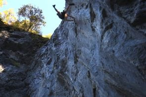 "Weekend Whipper: Taking a Long Rip on ""Spliff"" (5.13c)"
