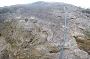 Weekend Whipper: 10-Meter Fall and Near Grounder in Iran
