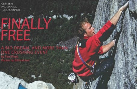 Finally Free: Skinner and Piana's First Free Ascent of the Salathé Wall