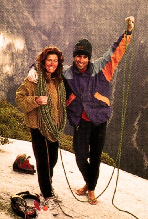 El Cap Free Timeline - Rock and Ice