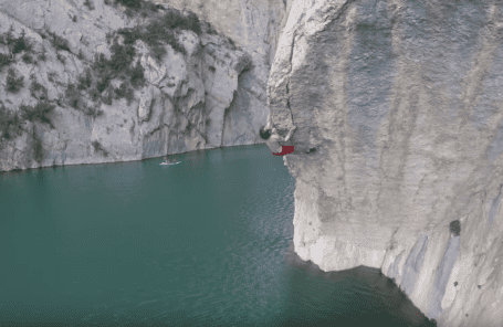 Chris Sharma - Deep Water Solo FAs at Mont Rebei in Summer 2018