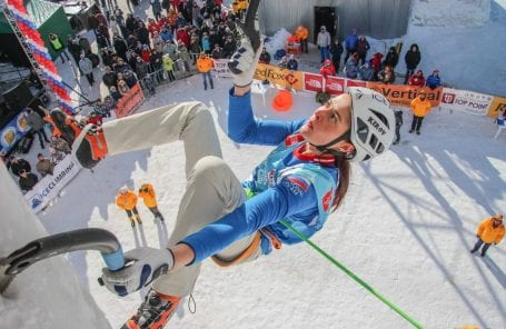 American Alpine Club Announces 2019 U.S. Team for the UIAA World Cup Ice Climbing Competition