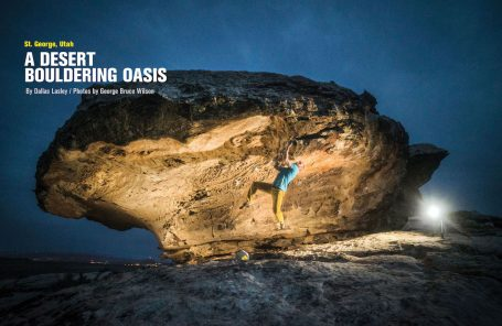 St. George, Utah: A Desert Bouldering Oasis