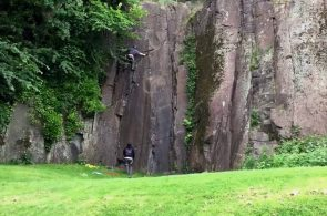 Weekend Whipper: Decking at Auchinstarry Quarry, Scotland