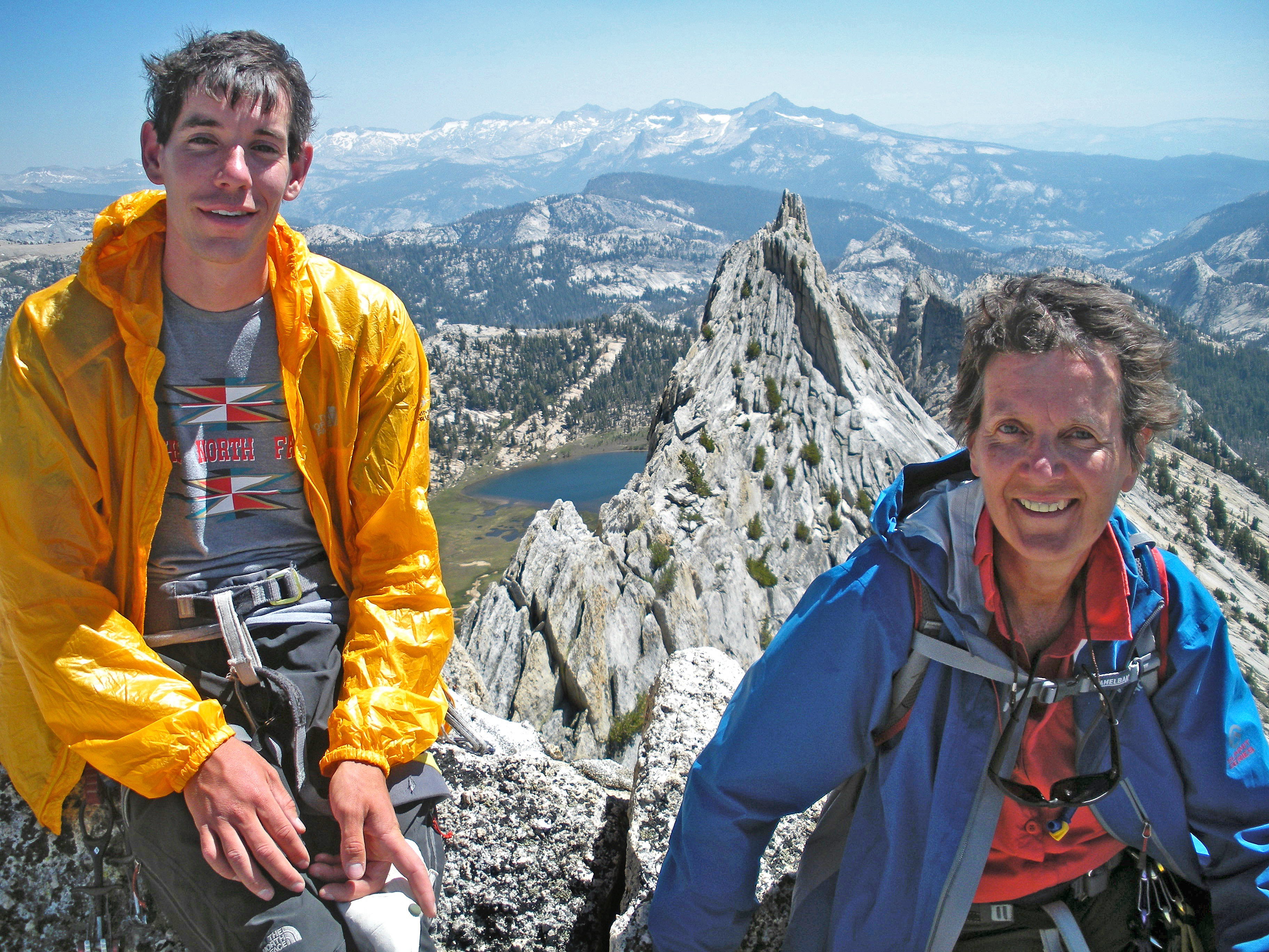 When Your Son is Alex Honnold    Mother-Son Outing on Snake Dike