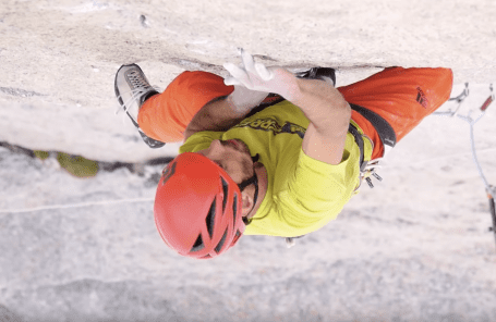 Kevin Jorgeson and Jacob Cook Leave Blood on the Crack in the Bugaboos