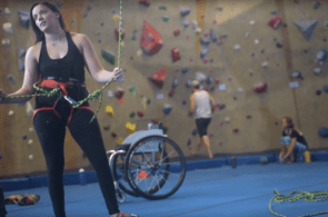 Rocks & Recovery: Paraclimber Brittany Davis and the Path Back to the Wall