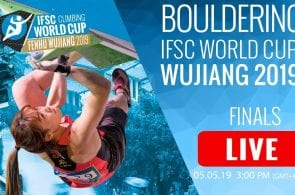 LIVESTREAM: 2019 Wujiang Bouldering World Cup Finals