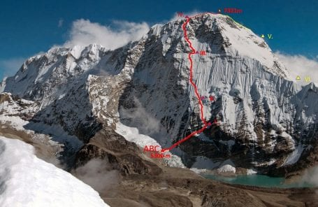 Interview: Marek Holeček on the First Ascent of the Northwest Face of Chamlang