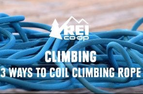 How To Coil a Climbing Rope (3 Ways!)