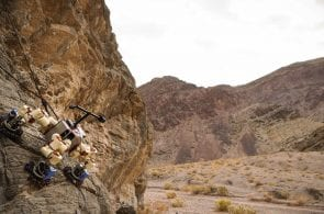 NASA Climbing Robot Scales Cliffs and Looks for Life