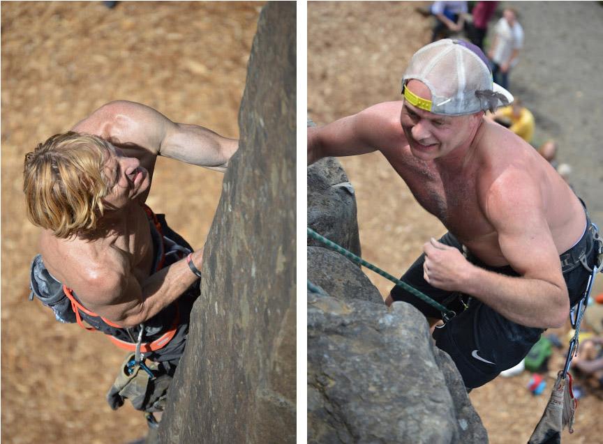 hans florine pete hoffmeister climbing