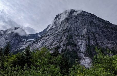 Big Walls Abound in Canada's Yosemite Valley... If You Can Get There