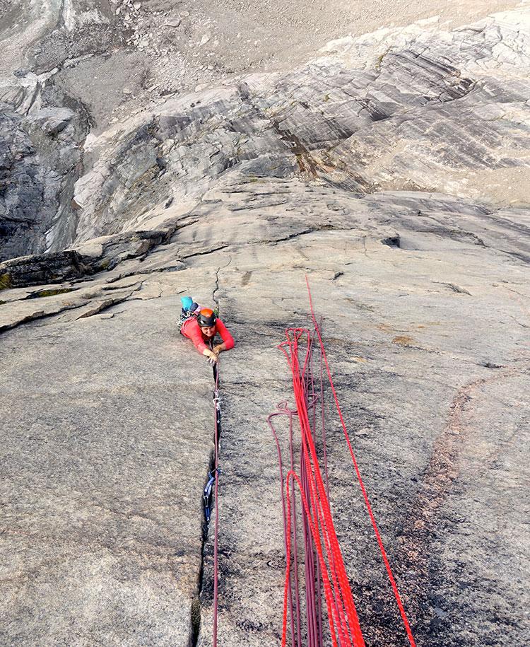 climbing baffin island