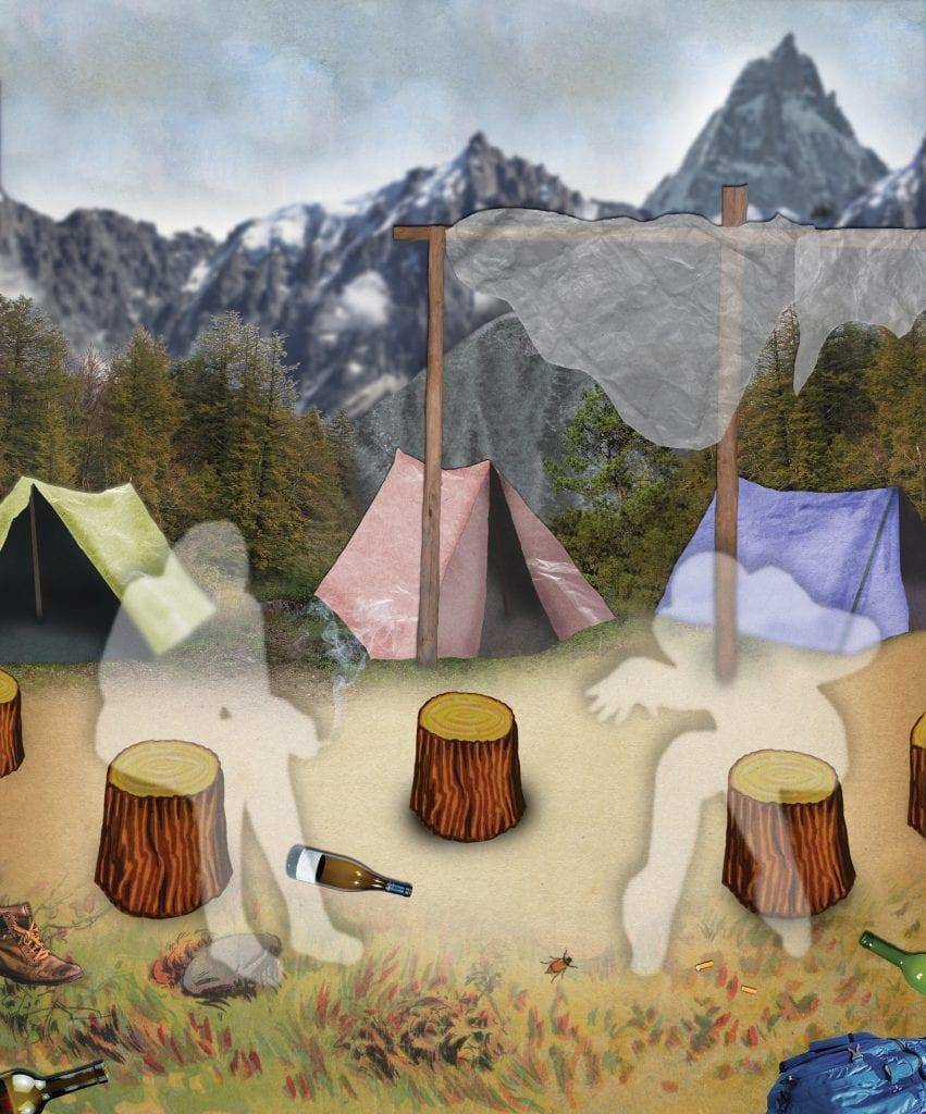 climbers camp chamonix