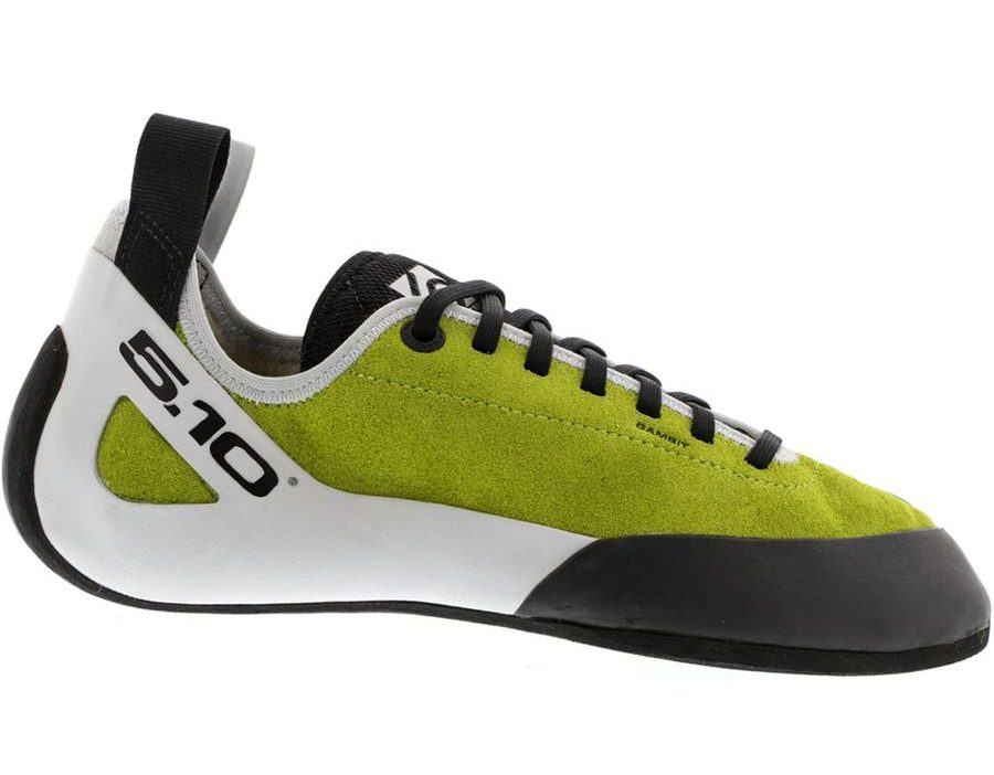 The Five Ten Gambit is one of the best climbing shoes for beginner climbers.