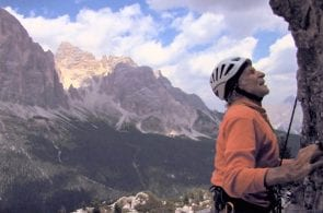 A Day with Fred Beckey in the Dolomites