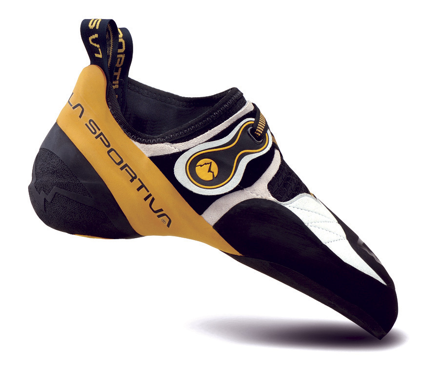 The La Sportiva Solution is one of the best climbing shoes for boulderers.