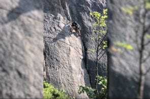 Weekend Whipper: Scary Inverted Fall in Lofoten, Norway
