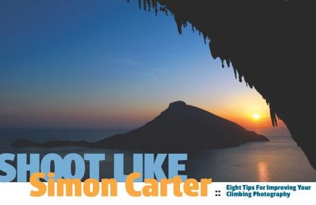 Shoot Like Simon Carter - Climbing Photography Tips