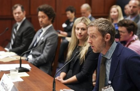 Outdoor Athletes Testify in D.C. on Climate Change